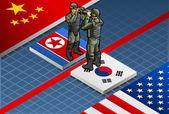 Isometric Corean crisis