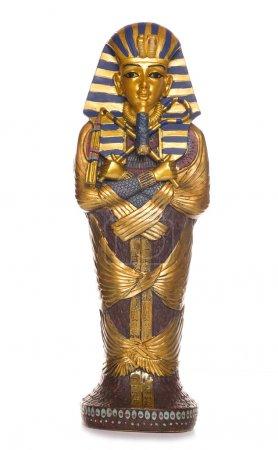 Egyptian mummy coffin studio cutout...