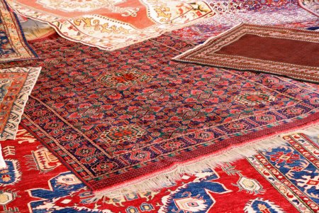 Collection of valuable carpets of Afghan origin