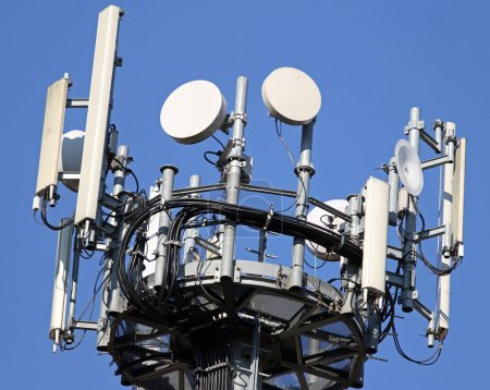 cable and antennas for signal repetition of mobile telephony and
