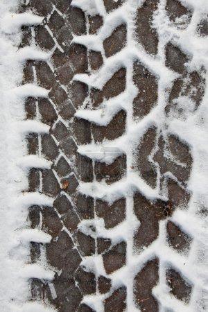 Winter tires pattern
