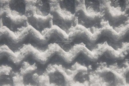 Photo pour Modèle de pneus d'hiver - image libre de droit