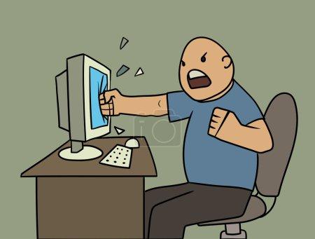 Angry user