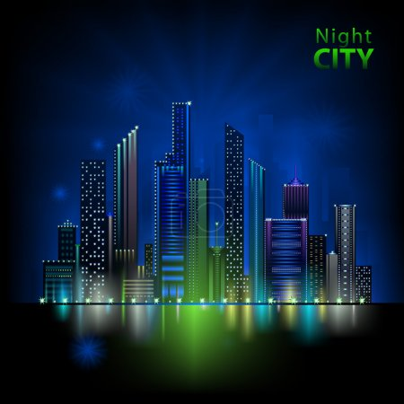 Photo for Night city - Royalty Free Image