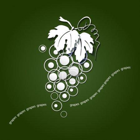 paper grapes
