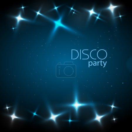 Illustration for Disco background - Royalty Free Image