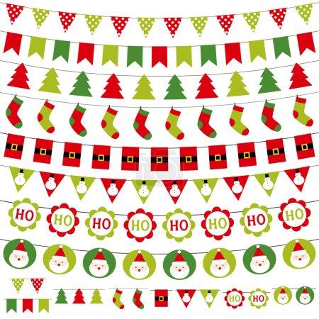 Illustration for Christmas decoration set - Royalty Free Image