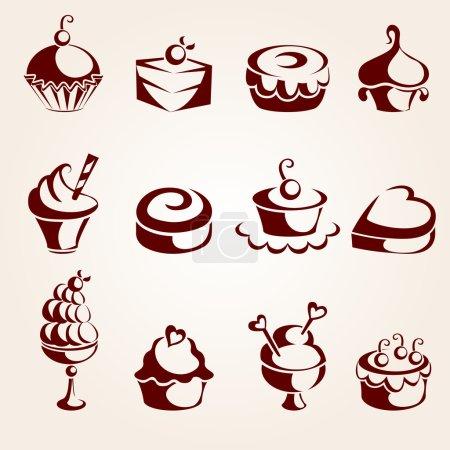 Cupcakes set...