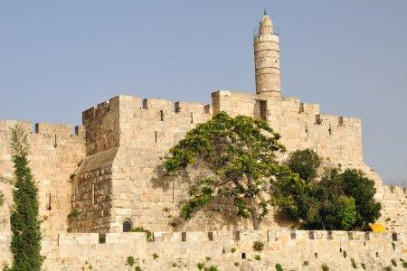 citadelle de Jérusalem .