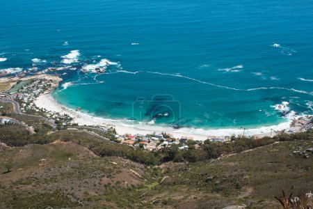 Image of Clifton Beach from Lions Head, Cape Town,...