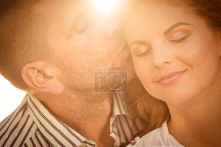 Intimate moments - couple in love