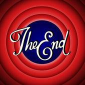 Vintage movie ending screen
