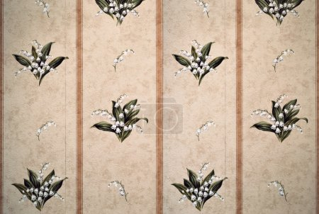 Traditional wallpaper pattern