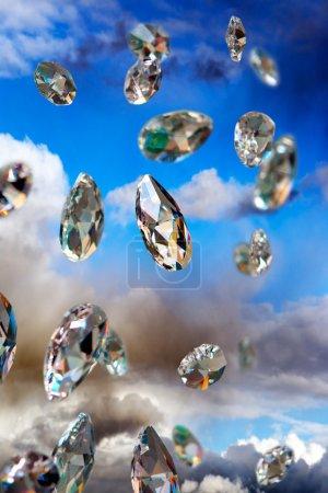 sparkling diamonds
