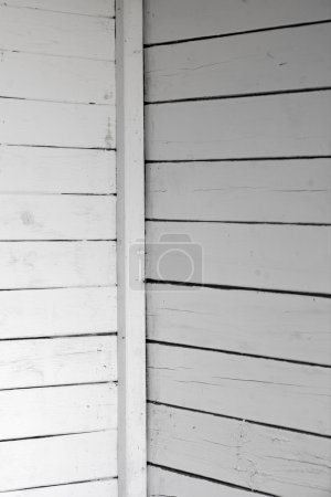 white weathered wooden wall