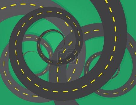 Road Spirals