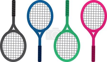 Tennis Racket Colors
