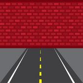 Road Wall Dead End
