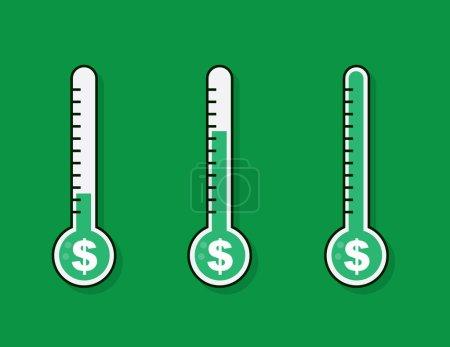 Thermometer Full Money Goal