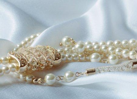 Beautiful pearl jewelry