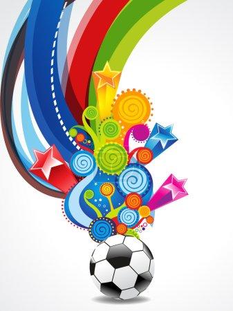 Soccer Explode Background