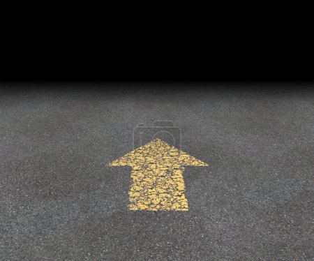 Direction Road Arrow