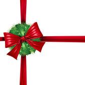 rouge Noël décoration ruban d'emballage