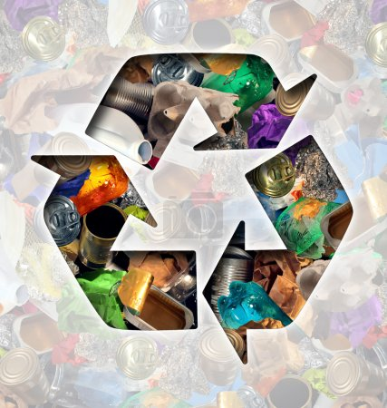 Recycle garbage concept and Recycling waste manage...