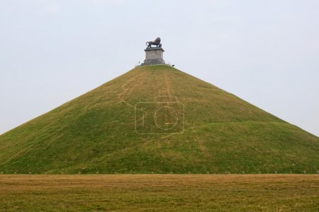 Statue at battlefield of Waterloo, Belgium