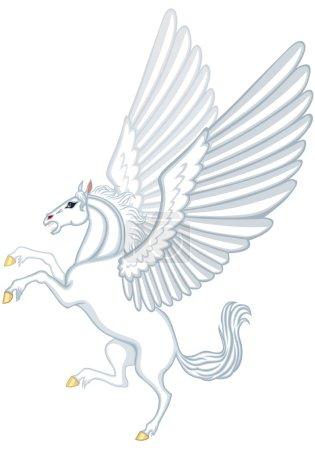 Cartoon Pegasus