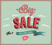 Big sale typographic design