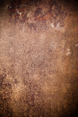 Photo for Oxidated metal surface making an abstract background, high resolution. - Royalty Free Image