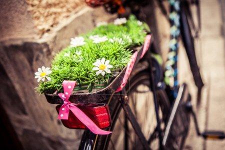 Photo pour Urban vélo rétro, version hipster . - image libre de droit