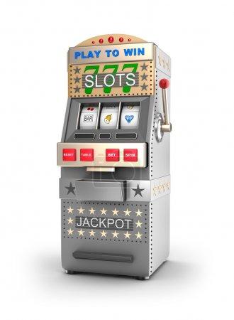 A slot machine, gamble machine.
