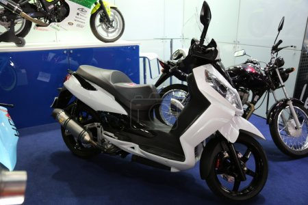 White ducati motorcycle biz