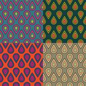Seamless drops bubbles kids pattern in vector