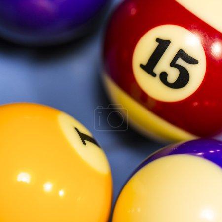 Sports cue tip billiard pool table cue chalk number 15 Carom Billiard Ball Store