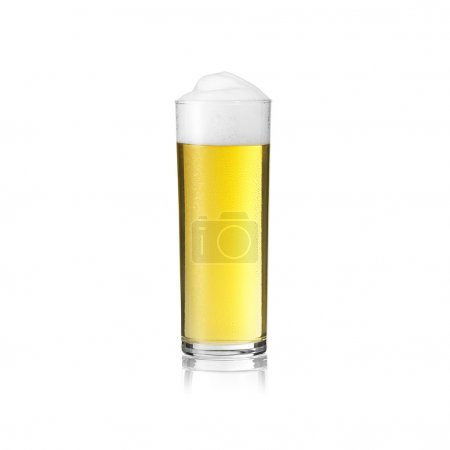 Beer glass cologne kölsch dew drops beer froth foam crown gold carnival alcohol brewery isolated