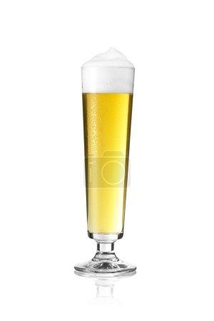 Bierglas Altbier dortmund rod pils beer froth dew drops sparkling crown, gold alcohol brewery