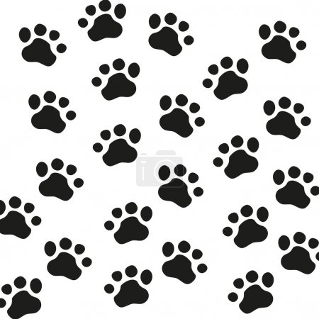 Animal Paw pet wolf paw paw vector bear footprint animal paw cat paw fingerprint impression