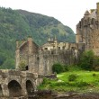 Castle Eilean Donan in Scotland in summer day...