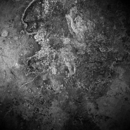Black old rust metal plate background