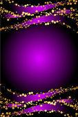 Luxury purple Christmas background