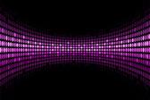 Vektorové černé pozadí s fialovým světla s prostorem pro vaše t