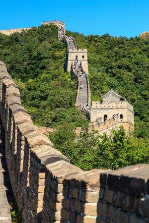 Great wall near Beijing in China