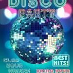 Disco party vector...