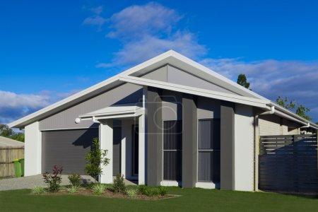 Foto de Casa suburbana australiana - Imagen libre de derechos