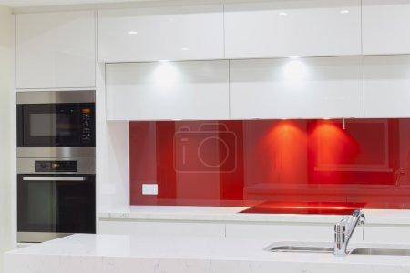 Photo pour Nouvelle cuisine minimaliste moderne - image libre de droit