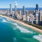 Sunny view of Gold Coast, Queensland, Australia...