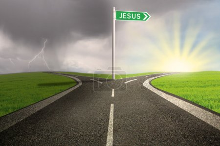 Road way to Jesus